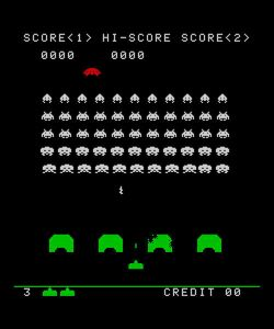 Space Invaders - Found at: http://www.sxc.hu/photo/191111