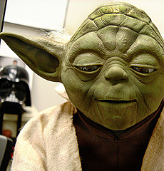 Yoda - found at flickr. http://flickr.com/photos/metrojp/78193696/