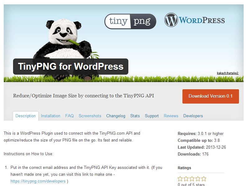TinyPNG for WordPress